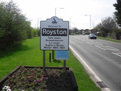 Taxi from Royston