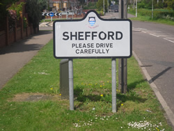 Taxi from Shefford