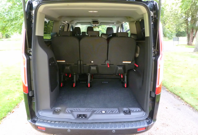 A1 Cars Minibus - large luggage space